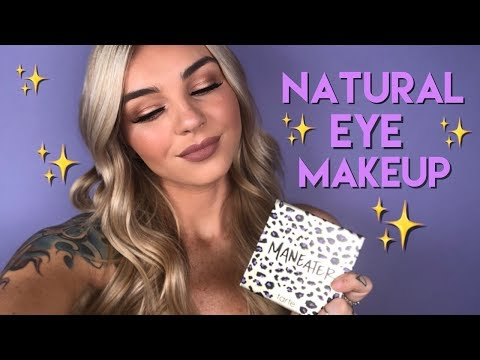natural eye makeup ft. Lex   tarte talk