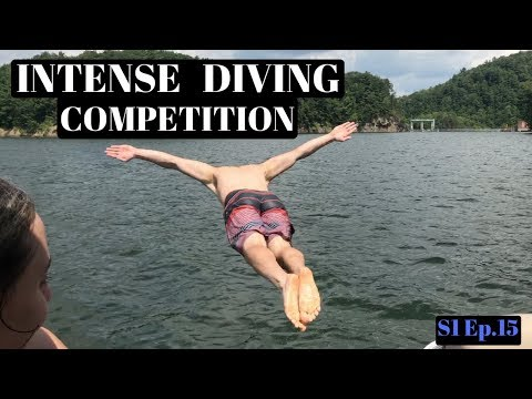 INTENSE DIVING COMPETITION! Rushford New York - S1 Ep.15