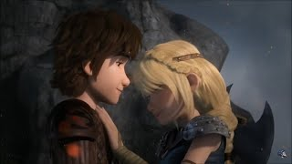 Hiccup and Astrid Cute Race to the Edge Moments | A Thousand Years