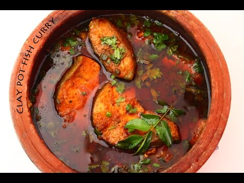 Clay pot fish curry with coconut milk youtube for Clay pot fish