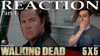 The Walking Dead S05E05 'Self Help' Reaction / Review - PART 1