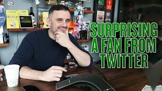 Why Working for Free Gives You Authority | Surprising a Fan From Twitter
