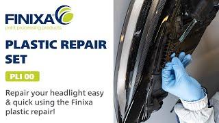 Finixa Plastic repair: headlight