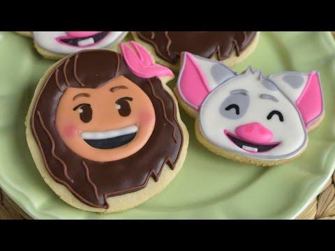 Moana And Pig Pua Cookies Haniela S Youtube
