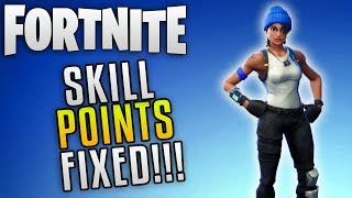 "Fortnite Save The World Update 4.3 ""Fortnite Skill Point Cap Increased"" Fortnite Patch 4.3 News"