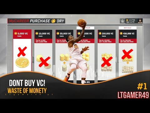 NEVER BUY VC | NBA 2K17