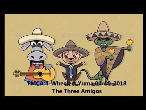 FMCA 4 Wheelers Yuma 01 10 2018 The Three Amigos
