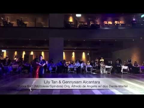 "2016 XIV Taipei Tango Festival - Lily & Gen dance ""Pobre flor"""