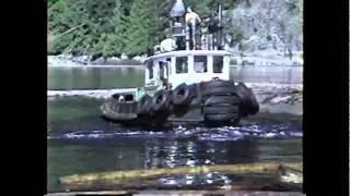 Howe sound Dozer boat and Yarding tug