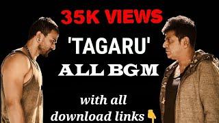 TAGARU BGM kannada NEW movie|HQ MUSIC| |RELEASE|SHIVARAJ KUMAR|MASS| ACTION|