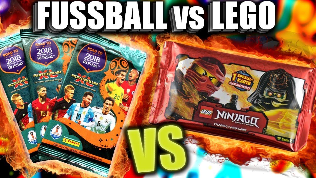 Fussball Vs Lego Unboxing Battle Wm 2018 Vs Ninjago