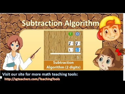 Subtraction Algorithm within 100