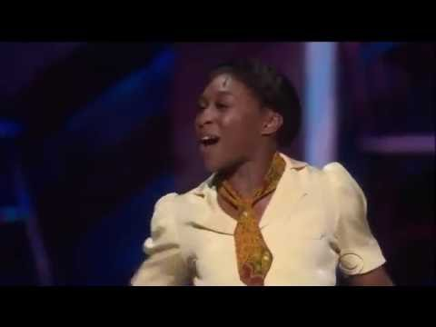 Thumbnail: 70th Annual Tony Awards The Color Purple 2016 Cynthia Erivo Danielle Brookes Heather Headley