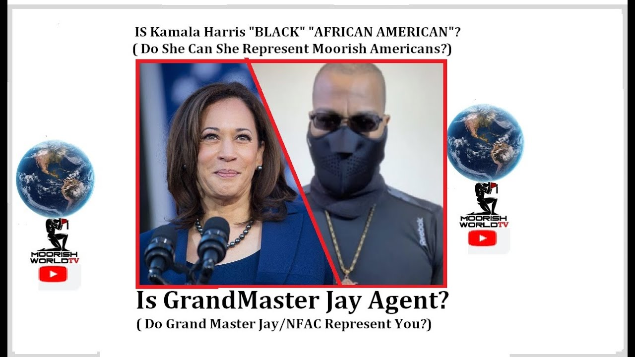 "IS Kamala Harris ""BLACK"" ""AFRICAN AMERICAN""?/ IS Grand Master Jay Agent"