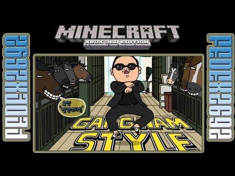 Psy Gangnam Style Noteblock song (Minecraft Xbox 360)