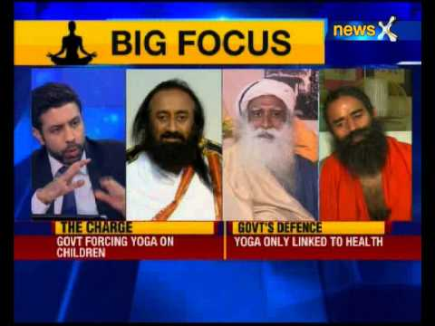 Nation at 9: India's spiritual trinity on Yoga day