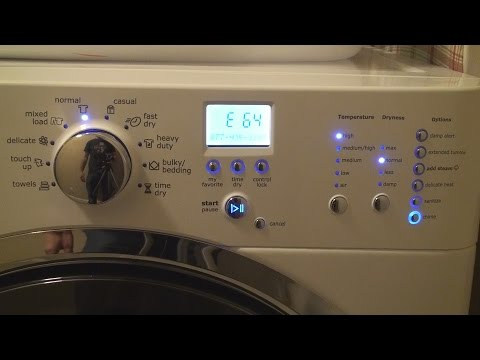 Electrolux Electric Dryer E64 Heating Element Repair