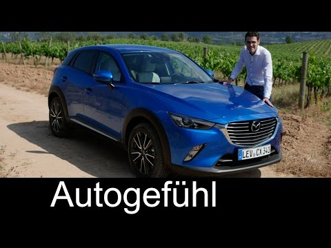 All-new Mazda CX-3 FULL REVIEW test driven 2016 small SUV sp