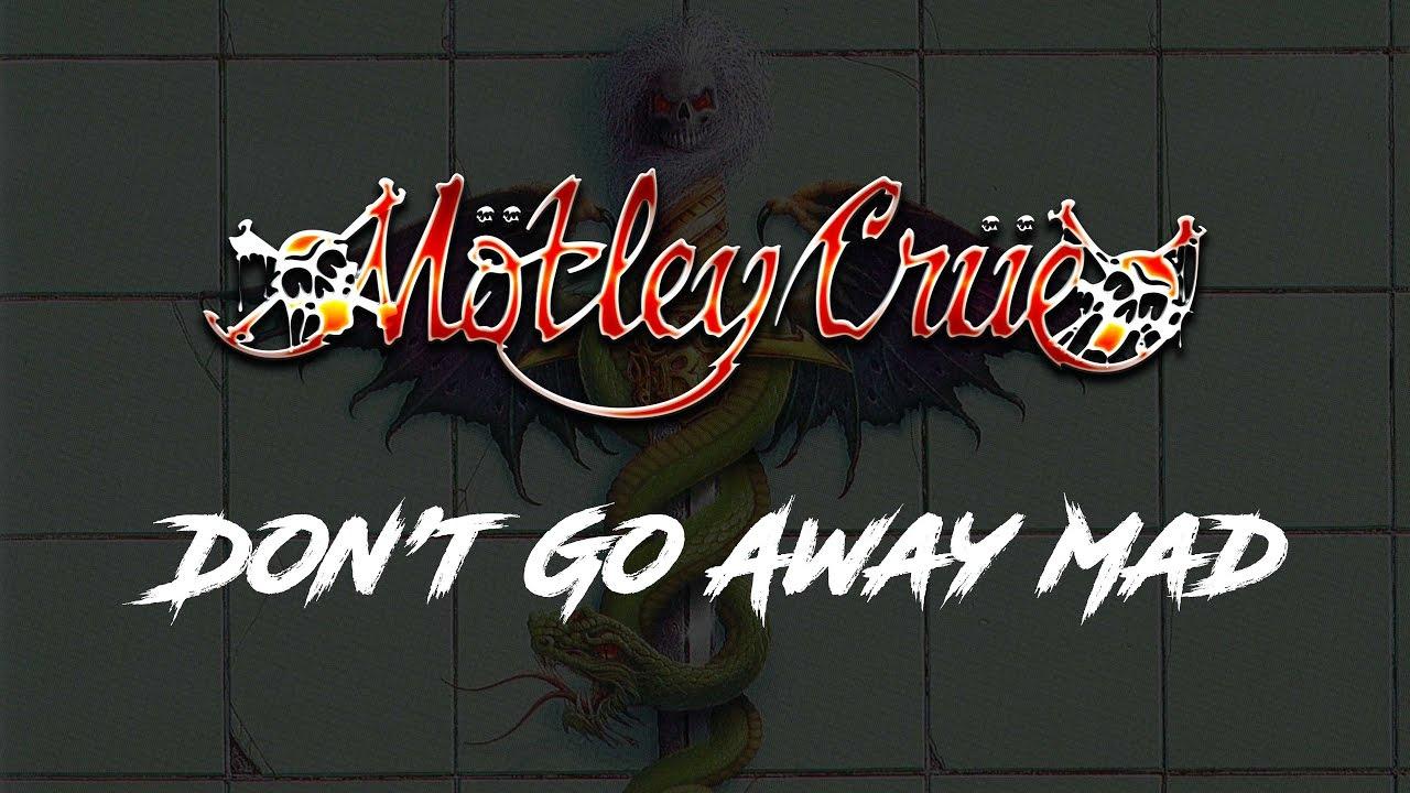 Don't Go Away Mad (Just Go Away) Lyrics