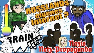 Russland plant EIGENES Internet? ♦ Neue Nazi-Netz-Propaganda! | BrainFed #27