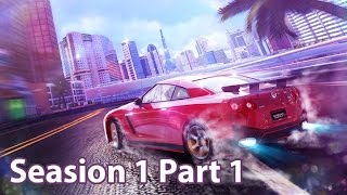 Asphalt 8: Airborne Seasion 1 and tutorial play game Part 1 || CH10