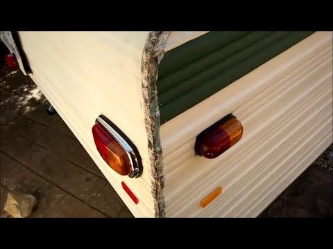 Millard Caravan J Rail Re Seal Youtube