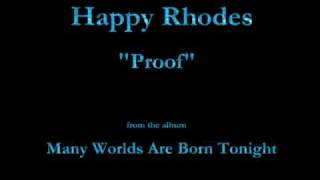 Watch Happy Rhodes Proof video