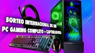¡SORTEO PC GAMING SETUP +1500€ INTERNACIONAL CON TODO + CAPTURADORA!