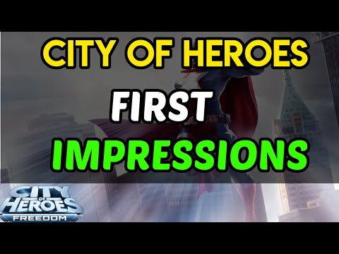 City Of Heroes 2019 Review | It's Amazing | First Impressions