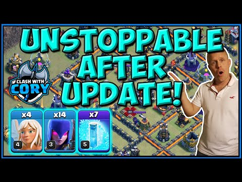 FROZEN WITCH AFTER UPDATE! Best Th10 Attack Strategy | CLASH OF CLANS