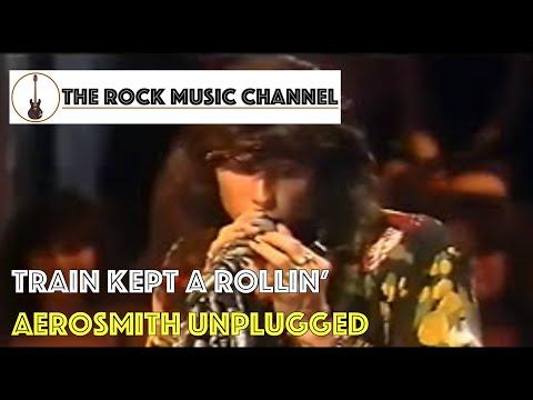 12 Aerosmith Unplugged - Train kept a Rollin'