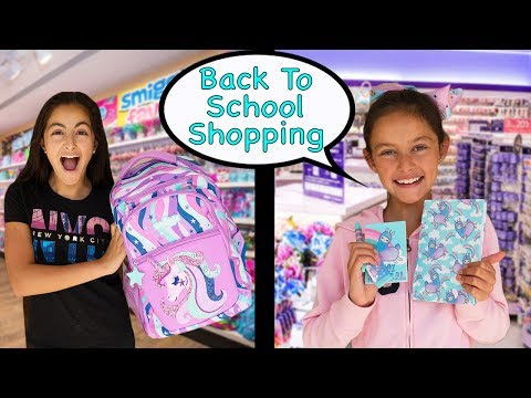 Back to School Shopping - I'll Buy Anything with the Letters we Pick!!!