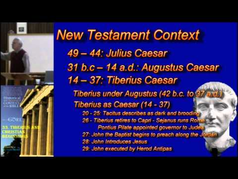 33. Tiberius and Christian Beginnings