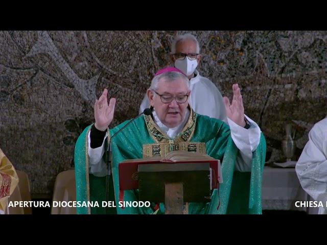 APERTURA SINODO - FASE DIOCESANA - TERMOLI