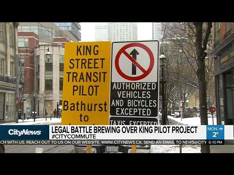 Possible lawsuit brewing over King Street pilot project