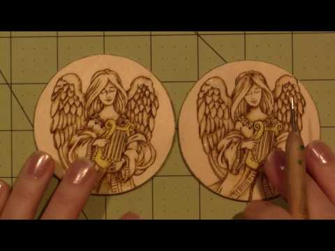 Pyrography Santa Tutorial