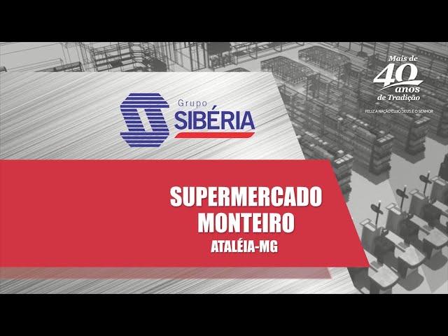 Loja Inaugurada - Supermercado Monteiro - Ataléia/MG