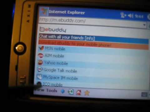 Dell Axim X30 PDA With AIM,Yahoo,MSN,FaceBook,Myspace,ICQ,Gtalk Messengers