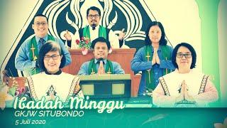 Ibadah Minggu GKJW Situbondo ||  Belajar Beriman Sejak Dini  || 5 Juli 2020