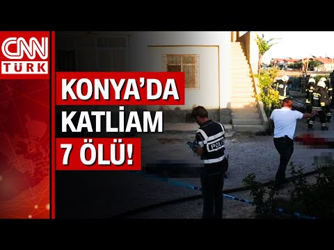Konya'da dehşet! Eve