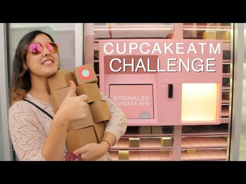 The Sprinkles Cupcake ATM Challenge!
