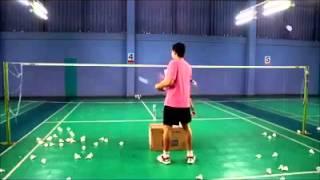 Badminton training - Net & Drop Shot Drills