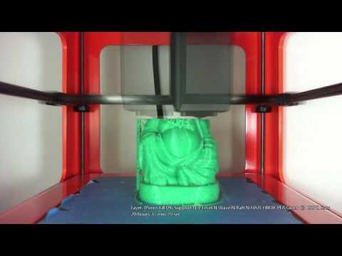 M3D Yoda Buddha Time Lapse - .05mm