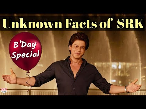 Birthday Special:Unknown Facts about Shah Rukh Khan