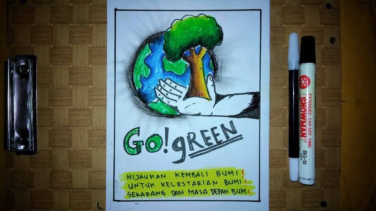 Poster Tema Go Green Youtube