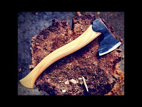 Carving Axe Series VIII - Lian Handcrafted Tools Israel - Part I