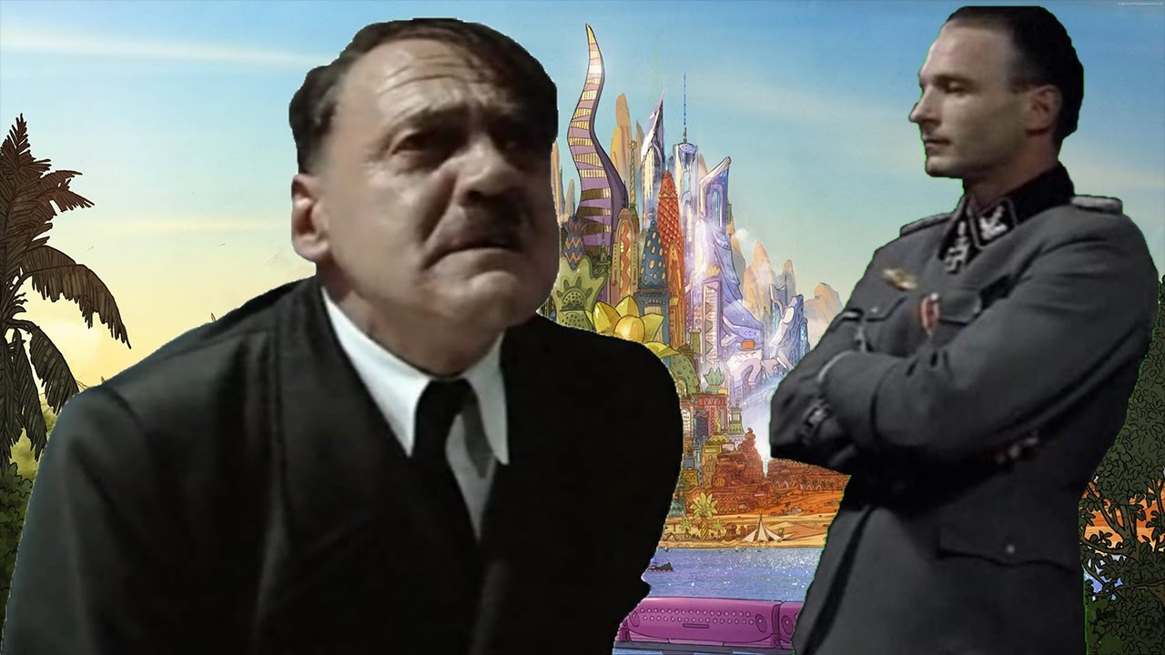 Hitler travel to Zootopia