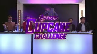 Avengers: Endgame Cast plays the Cupcake Challenge