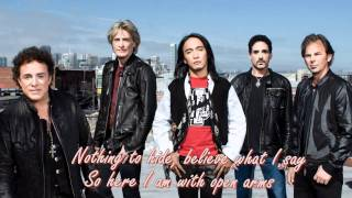 OPEN ARMS BY JOURNEY( ARNEL PINEDA)WITH LYRICS