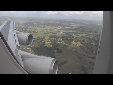 Air New Zealand 747-419 NZ124 MEL-AKL